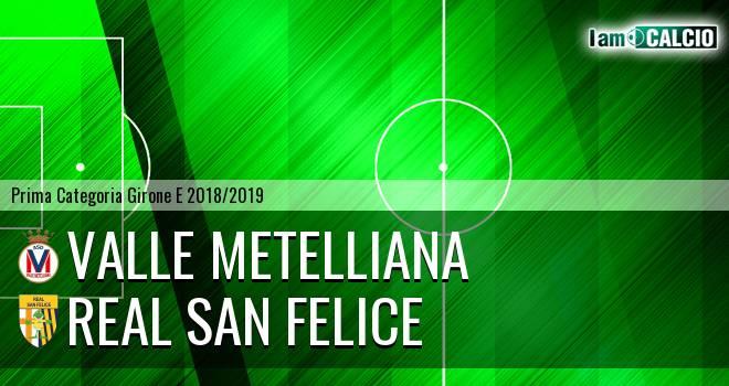 Valle Metelliana - Real San Felice