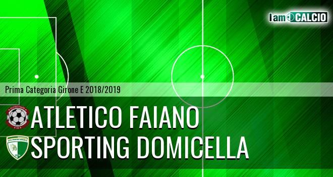 Atletico Faiano - Sporting Domicella
