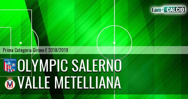 Olympic Salerno - Valle Metelliana