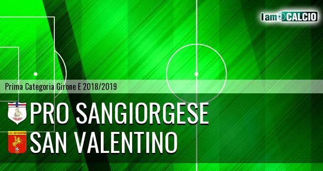 Pro Sangiorgese - San Valentino