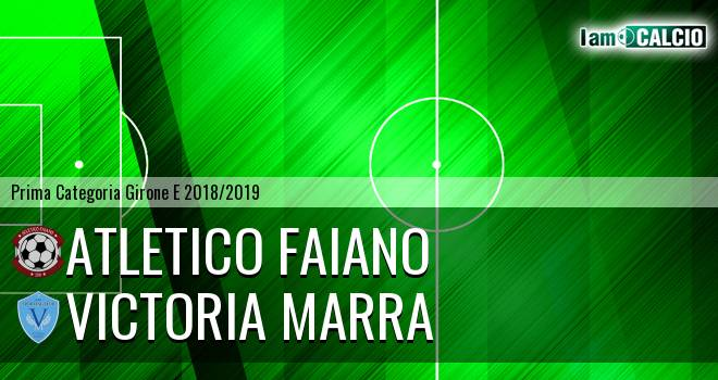 Atletico Faiano - Victoria Marra