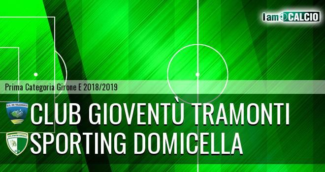 Club Gioventù Tramonti - Sporting Domicella
