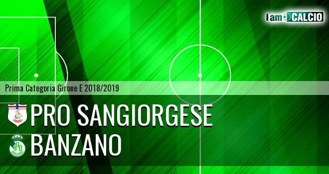 Pro Sangiorgese - Banzano
