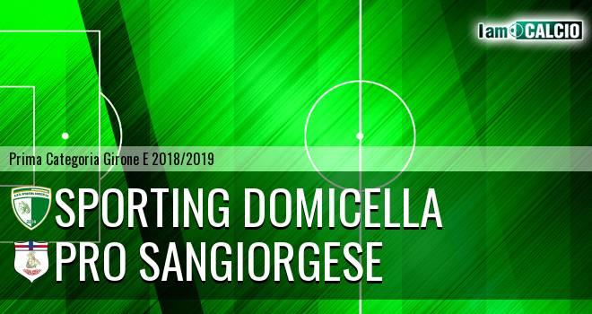 Sporting Domicella - Pro Sangiorgese