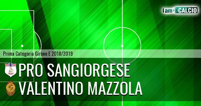Pro Sangiorgese - Valentino Mazzola