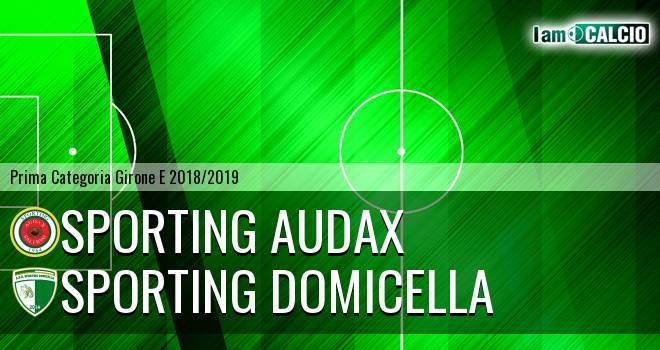 Sporting Audax - Sporting Domicella