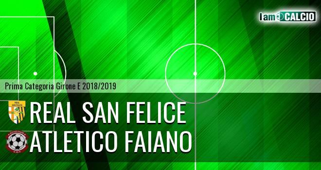 Real San Felice - Atletico Faiano