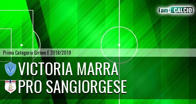 Victoria Marra - Pro Sangiorgese