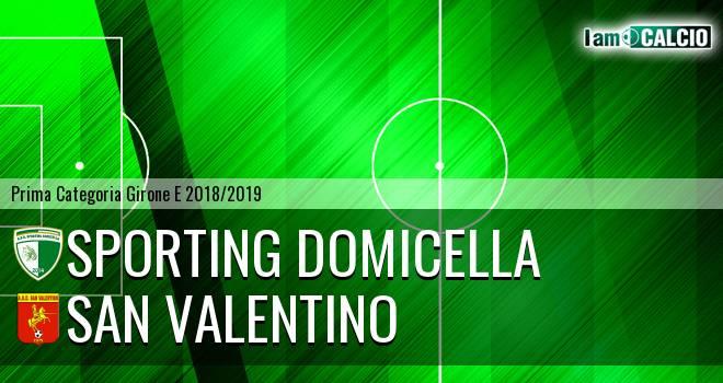 Sporting Domicella - San Valentino