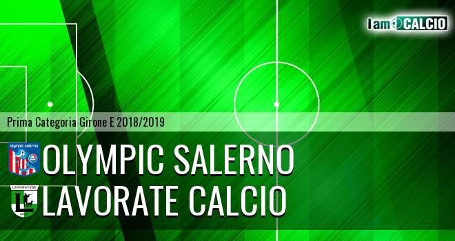 Olympic Salerno - Lavorate Calcio