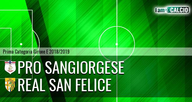 Pro Sangiorgese - Real San Felice