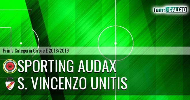 Sporting Audax - S. Vincenzo Unitis