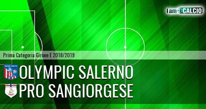 Olympic Salerno - Pro Sangiorgese