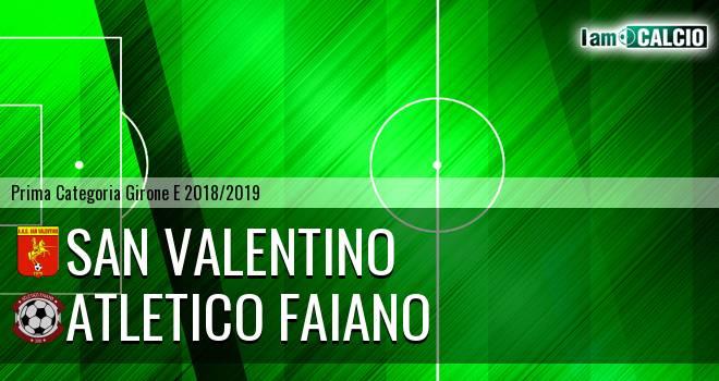 San Valentino - Atletico Faiano
