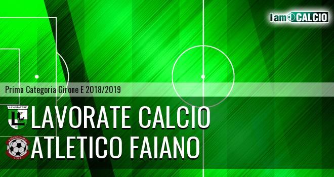 Lavorate Calcio - Atletico Faiano