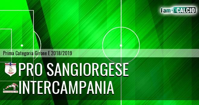 Pro Sangiorgese - Intercampania