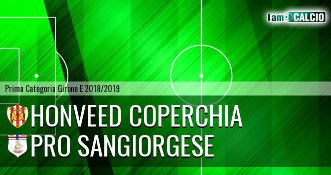 Honveed Coperchia - Pro Sangiorgese