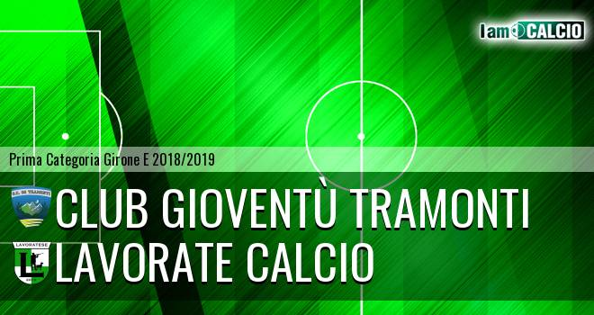 Club Gioventù Tramonti - Lavorate Calcio