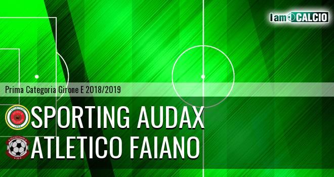 Sporting Audax - Atletico Faiano
