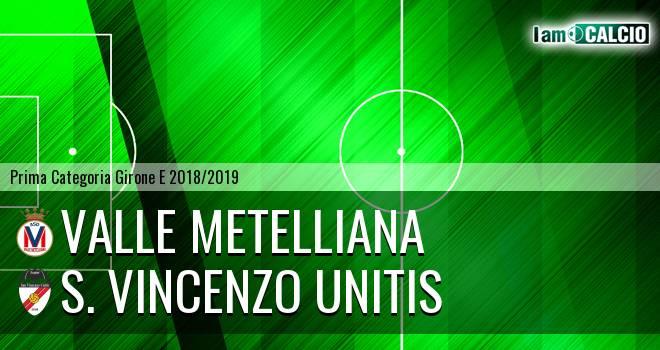 Valle Metelliana - S. Vincenzo Unitis
