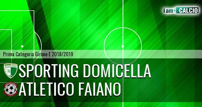 Sporting Domicella - Atletico Faiano