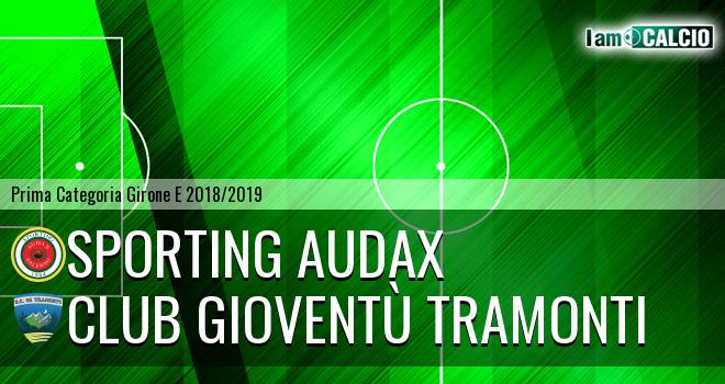 Sporting Audax - Club Gioventù Tramonti