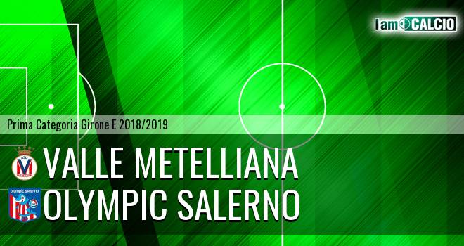 Valle Metelliana - Olympic Salerno