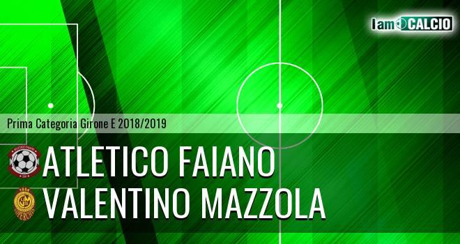 Atletico Faiano - Valentino Mazzola