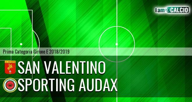 San Valentino - Sporting Audax