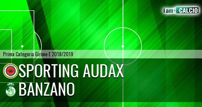 Sporting Audax - Banzano