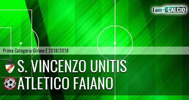 S. Vincenzo Unitis - Atletico Faiano