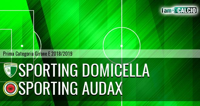 Sporting Domicella - Sporting Audax