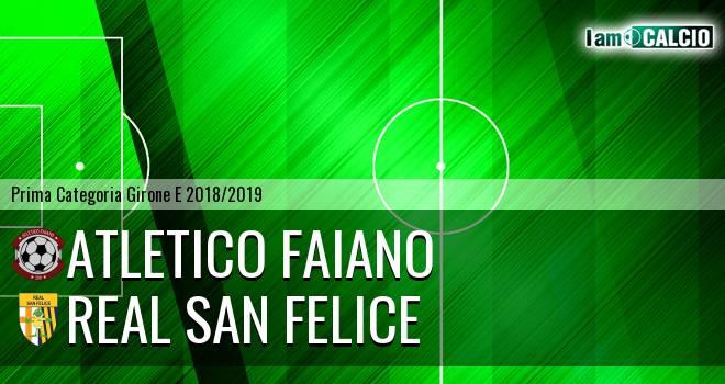 Atletico Faiano - Real San Felice