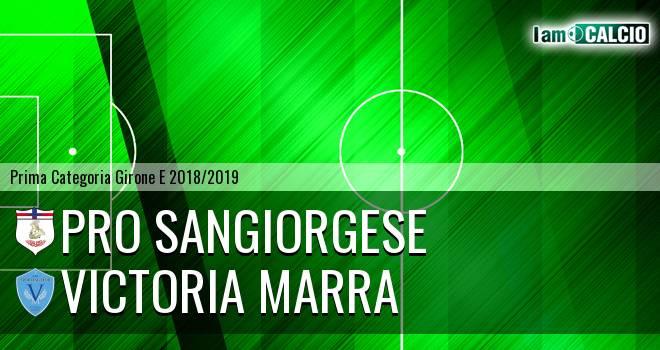 Pro Sangiorgese - Victoria Marra