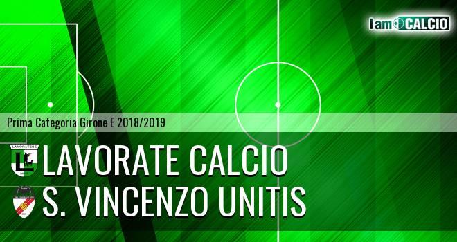 Lavorate Calcio - S. Vincenzo Unitis