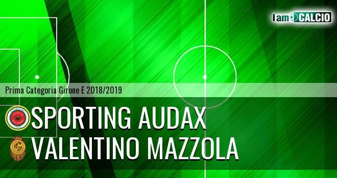 Sporting Audax - Valentino Mazzola