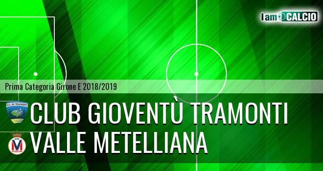Club Gioventù Tramonti - Valle Metelliana