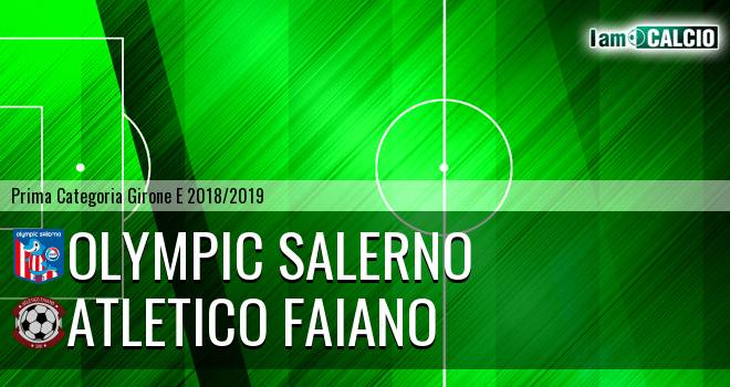 Olympic Salerno - Atletico Faiano
