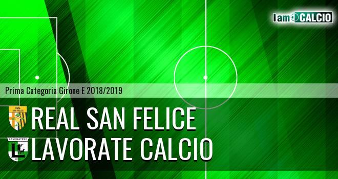Real San Felice - Lavorate Calcio