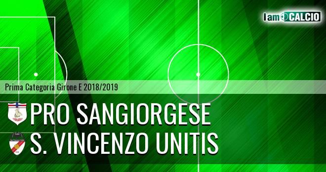 Pro Sangiorgese - S. Vincenzo Unitis
