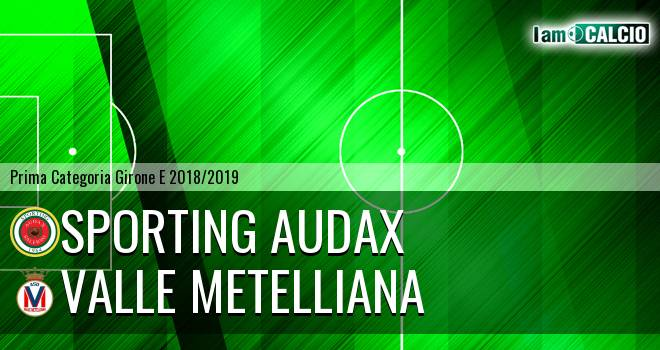 Sporting Audax - Valle Metelliana
