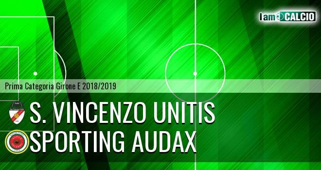 S. Vincenzo Unitis - Sporting Audax