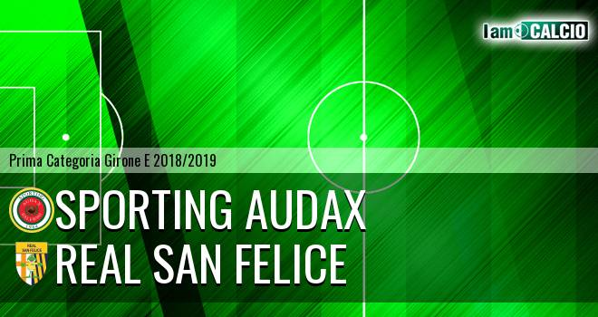 Sporting Audax - Real San Felice