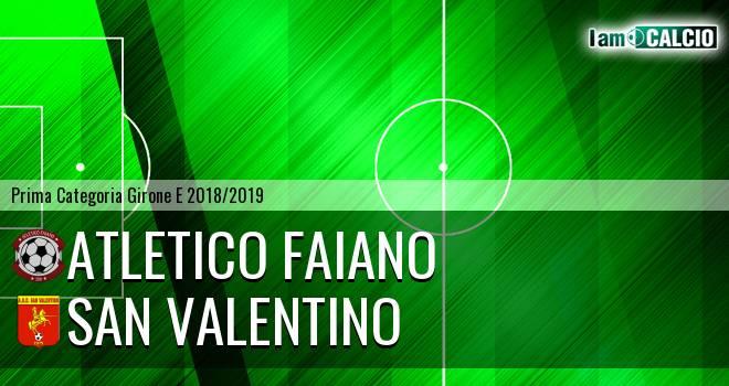 Atletico Faiano - San Valentino