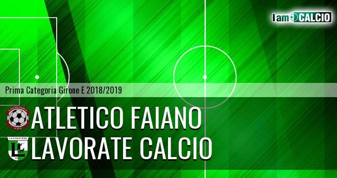Atletico Faiano - Lavorate Calcio
