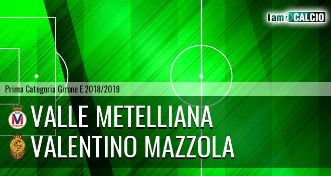 Valle Metelliana - Valentino Mazzola
