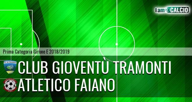 Club Gioventù Tramonti - Atletico Faiano