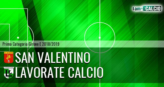 San Valentino - Lavorate Calcio