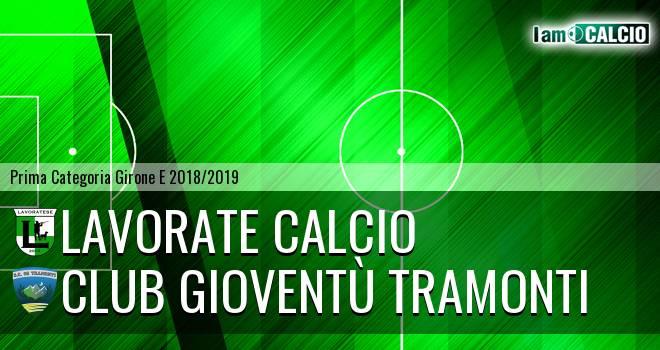 Lavorate Calcio - Club Gioventù Tramonti
