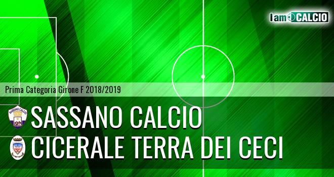 Sassano Calcio - Cicerale Terra dei Ceci